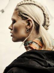 heavy metal braids hair