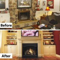 Open fireplace, Hearth and Fireplaces on Pinterest