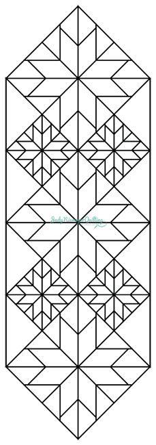 Mini Stars Tablerunner. http://www.quiltworx.com/patterns