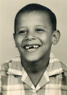 Young Barack Obama age 6 I love childhood pictures of