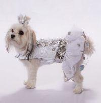 Dog wedding dress, Dog wedding and Dog dresses on Pinterest