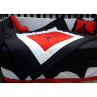 MICHAEL JORDAN Crib Bedding Set in retro Air Jordan ...