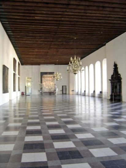 Interior of Kronborg Castle, Helsingør, Denmark  -  Travel Photos by Galen R Frysinger, Sheboygan, Wisconsin: