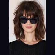 lob haircut with bangs - google