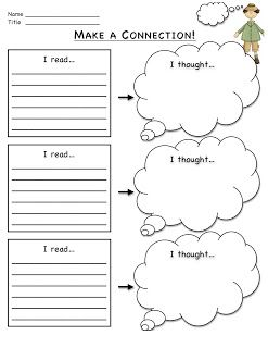 Freebie Connection-to-Self graphic organizer from my blog