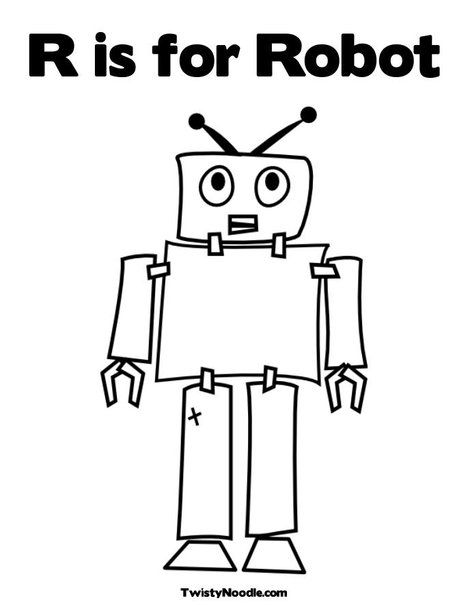Coloring pages, Coloring and Robots on Pinterest