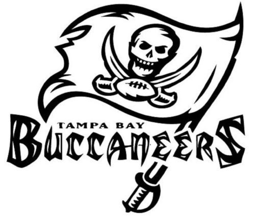 Truck stickers, Tampa bay buccaneers and Vinyl decals on