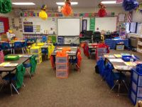 Chair pockets, fun, colorful, carpeted | Middle School ...