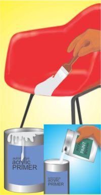 How to paint, Acrylics and Chairs on Pinterest