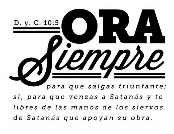 D. y C. Scripture Mastery Printables in Spanish