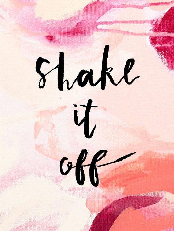 shake it off: