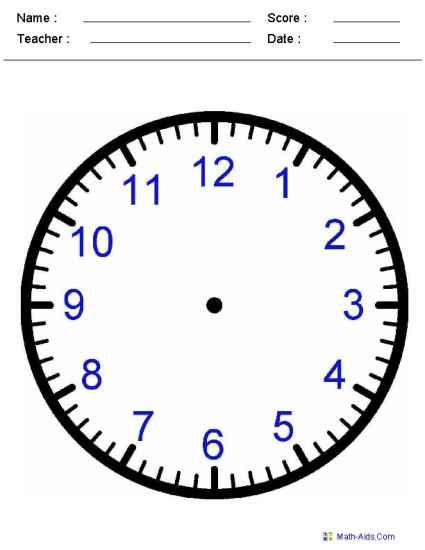 Worksheets, Telling time and To tell on Pinterest
