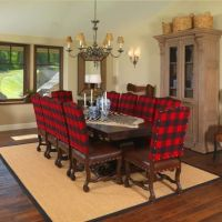 Buffalo plaid dining chairs! LOVE! | I LOVE my Plaids ...