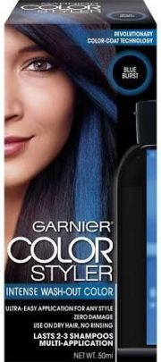 temporary blue hair dye