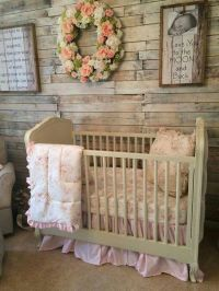 Rustic Baby Girl's Nursery | Nursery, Kids Space and Baby ...