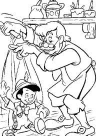 Mi coleccin de dibujos: Dibujos de Pinocho para colorear