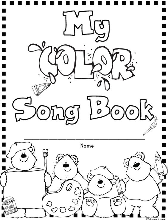 Color songs, Frogs and Songs on Pinterest