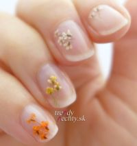 suen kvietky, Dried Flowers, Nail art, Nail Design ...