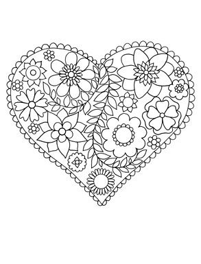 Happy Coloring : Easy Flowers Coloring Book for Adults by