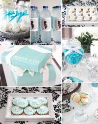 tiffany blue themed baby shower ideas   baby shower ideas ...