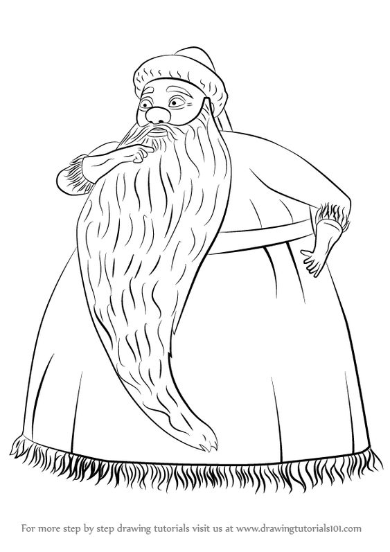 Learn How to Draw Santa Claus from The Nightmare Before