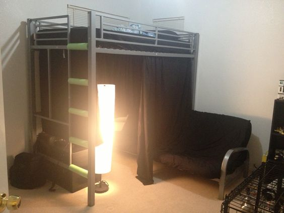 loft bed with chair futon french art deco club chairs para cord, beds and twin sheets on pinterest