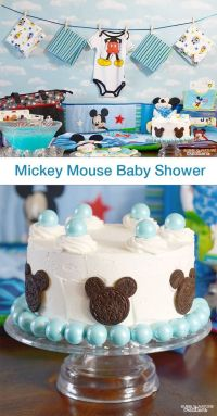 Mickey Mouse Baby Shower | Pinterest | Disney, On the side ...