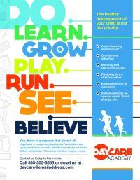 MARKETING [Childcare Poster] | Marketing | Communications ...