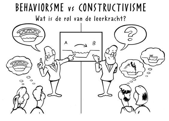 Behaviorisme vs constructivisme in de toekomstige rol van