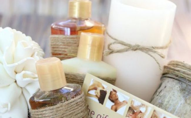 Relaxing Spa Diy Gift Basket A Great Gift For Moms