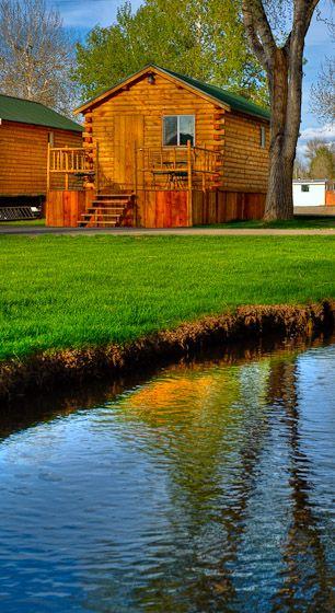 Cabins  Mesa RV Resort  Gunnison CO RV Campground near