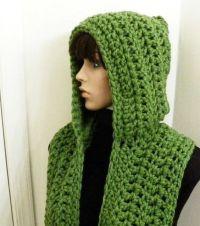 Hooded scarf, Hooded scarf pattern and Scarf patterns on ...