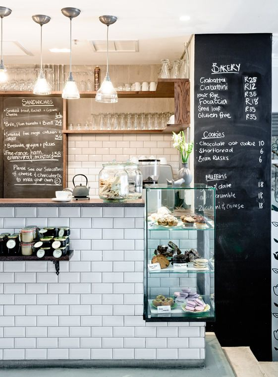 'Dear Me' brasserie in Cape Town, Francois du Plessis Interiors - A very charming multi-purpose outlet that combines an eat-in dining area, a pantry shop and the other-worldly White Room: