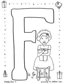 Great website for Sunday school printables, activities