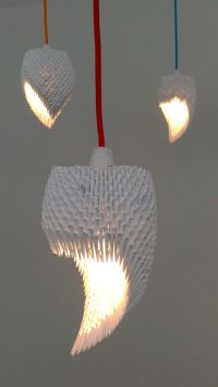 Origami lamp, 3d origami and Rolled paper on Pinterest