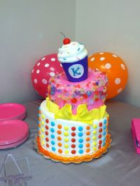 Candy land, Themed baby showers and Baby shower cakes on ...