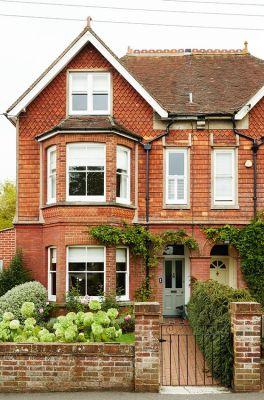 FACADE Traditional Semi-Detached Victorian Property: