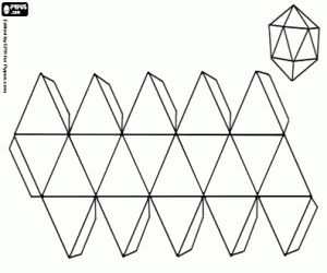 3d geometric shapes, Coloring pages and Geometric shapes