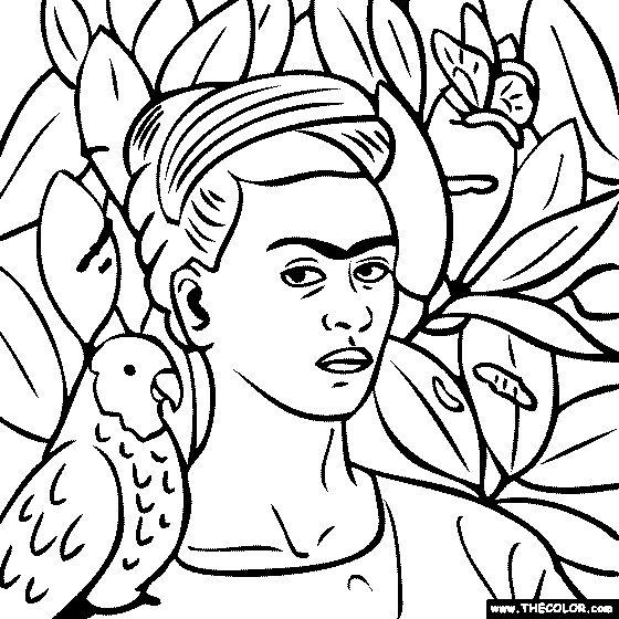 Frida kahlo, Self portraits and Bonito on Pinterest