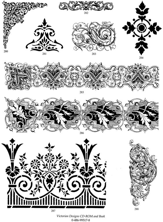 Dovers, Victorian and Victorian design on Pinterest