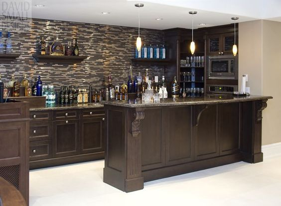 Man Cave, Basement Wet Bars And Caves On Pinterest