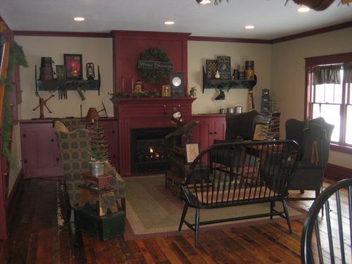Farmhouse December And Fireplaces On Pinterest
