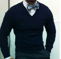 Bow tie & sweater combo | My Style | Pinterest | Sweaters ...