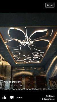 Laser cut ceiling designs | cnc cutting & milling ...