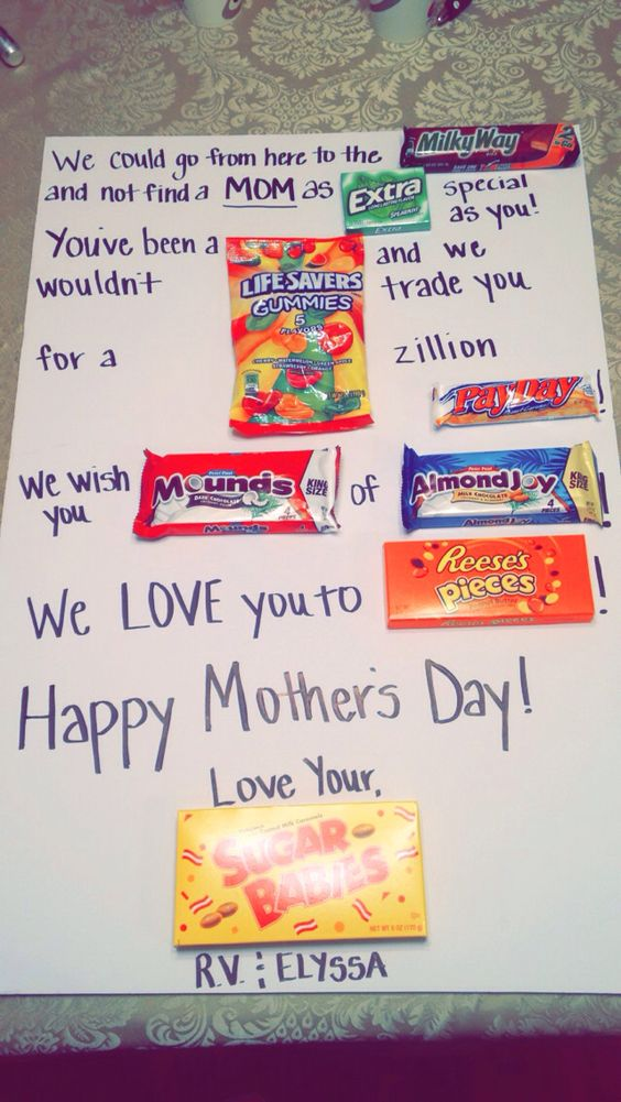 Mothers Mother's Day And Candy Posters On Pinterest