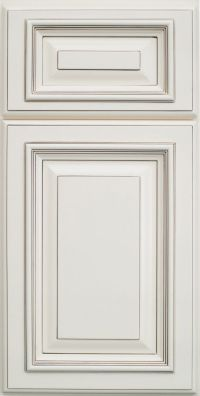 Highlighted White And Square Raised Panel For Kitchen ...