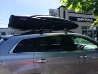 Mazda CX-9 with a Thule 626 XXL Force cargo box | Car Rack ...