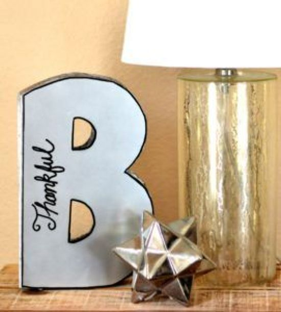 diy-mirrored-letter:
