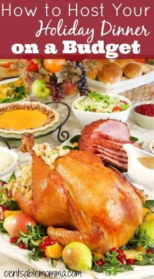 There's no need to stress about the cost of hosting your holiday meal with these 5 tips for how to host your holiday dinner on a budget.:
