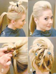 beautiful easy hairstyles long